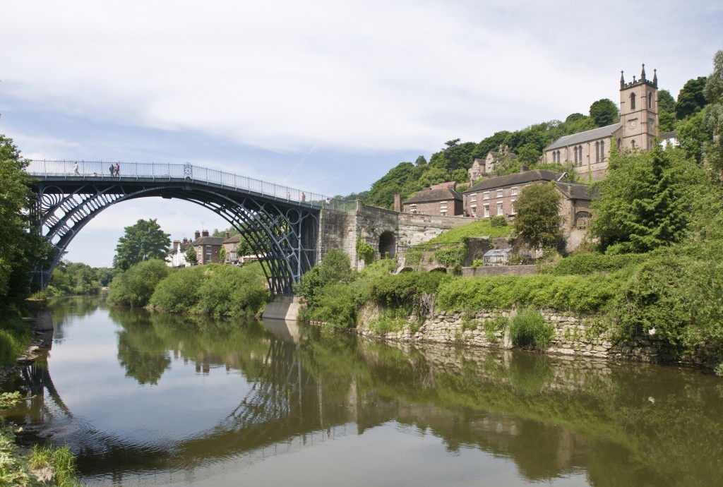 Ironbridge in Telford (c)Jean Frooms
