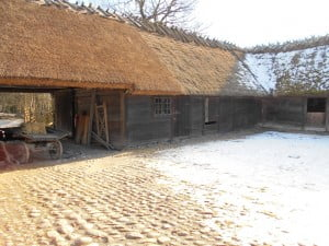 18th century farmstead at Skansen Open Air Museum, Stockholm. Courtesy of Lindsay Moreton.
