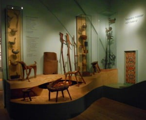 Display of Swedish folk art at Nordiska Museet, Stockholm. Courtesy of Lindsay Moreton.