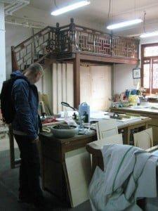 Traditional print studio at CAFA