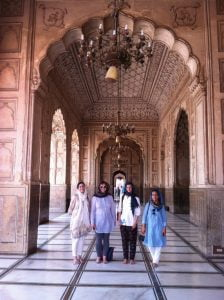 Visit to Lahore Fort with Lahore Biennial team
