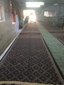 Muslim artisans hand-block printing, Ahmedabad