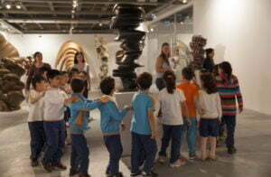 Learning activities at Istanbul Modern