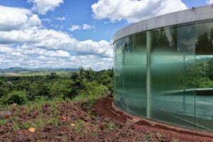 Doug Aitken's Sonic Pavilion. Photo: Otávio Nogueira