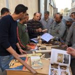 The Fitzwilliam Museum visit Egypt with an ICOM UK - British Council Travel Grant - Taking a workshop on ancient coffins and a 'pop-up' museum to Egypt Part 2: 'Popping-up' in Damietta