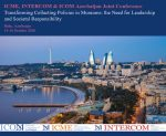 Call for papers: ICME, INTERCOM & ICOM Azerbaijan Joint Conference 2020
