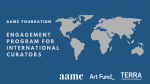 Engagement Program for International Curators (EPIC) - A call for applications